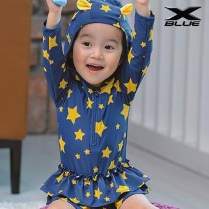 별 원피스(5404) 물놀이 유아 래쉬가드 수영복