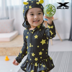 별 원피스(5407) 물놀이 유아 래쉬가드 수영복