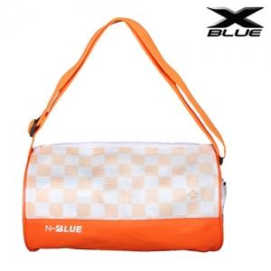 타포린가방 -원형- (오렌지)