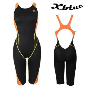 XWX-0019(BKOR) 엑스블루 반전신 수영복