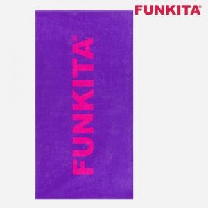 FUNKITA Towel(Still-Purpel) 펑키타 타올 towel