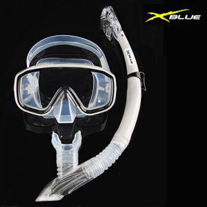 XB108DX(GRY) XBLUE SNORKEL 마스크 스노클링