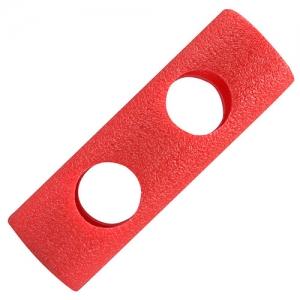 아쿠아봉 2구 클립(3색)-빨강