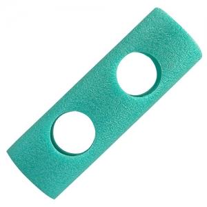 아쿠아봉 2구 클립(3색)-녹색