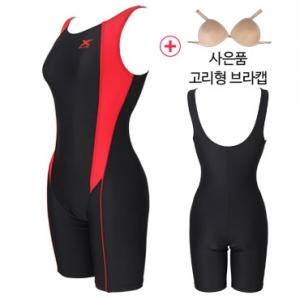 XWU-5031(RED)+사은품브라캡 엑스블루 아쿠아복 엄마 수영복 빅사이즈