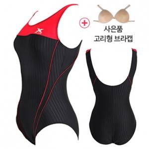 XWU-6002(BKRE)+ 사은품브라캡 엑스블루 아쿠아복 엄마 수영복 빅사이즈