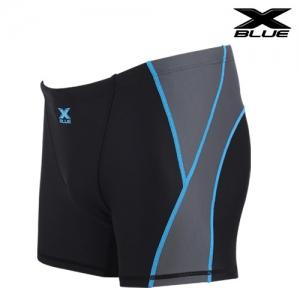 XMQ-6102 (BKGY) 엑스블루 사각 수영복