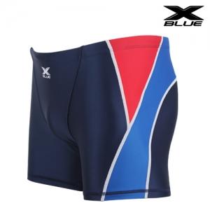 XMQ-6102 (NVBL) 엑스블루 주니어 사각 수영복