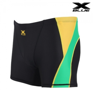 XMQ-6102 (BKGN) 엑스블루 주니어 사각 수영복