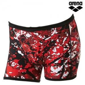 KKAR-48(RED) ARENA 아레나 1부 사각 탄탄이 수영복