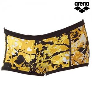 KKAR-47(YEL) ARENA 아레나 숏 사각 탄탄이 수영복