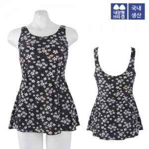 CWU-9204(YL) 엑스블루 아쿠아복 엄마 수영복 빅사이즈
