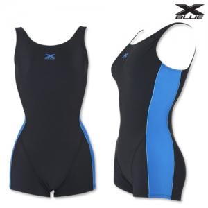 XWU-7101(BKBL)엑스블루 아쿠아복 엄마 수영복 빅사이즈-브라캡증정