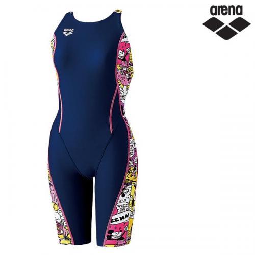 DIS-7308W(NVPK) 아레나 디즈니 탄탄이 연습용 수영복