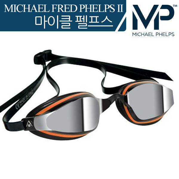 K180+ Mirror Lens(ORANGE/BLACK) MP 마이클 펠프스 수경