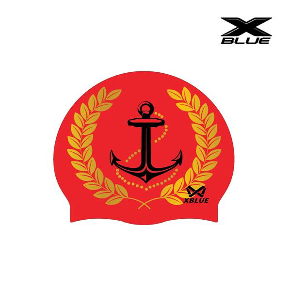 엑스블루 마린월계관 (RED) 실리콘수모