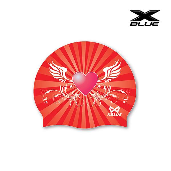 엑스블루 하트날개 (RED) 실리콘수모