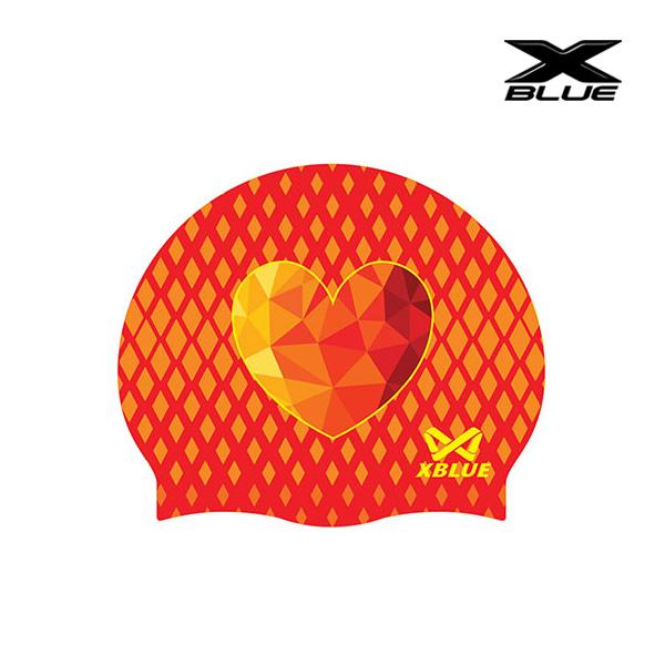 엑스블루 다이아몬드하트 (RED) 실리콘수모