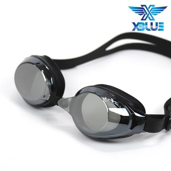 엑스블루 수경 패킹/미러렌즈 XB24MR[BLK]
