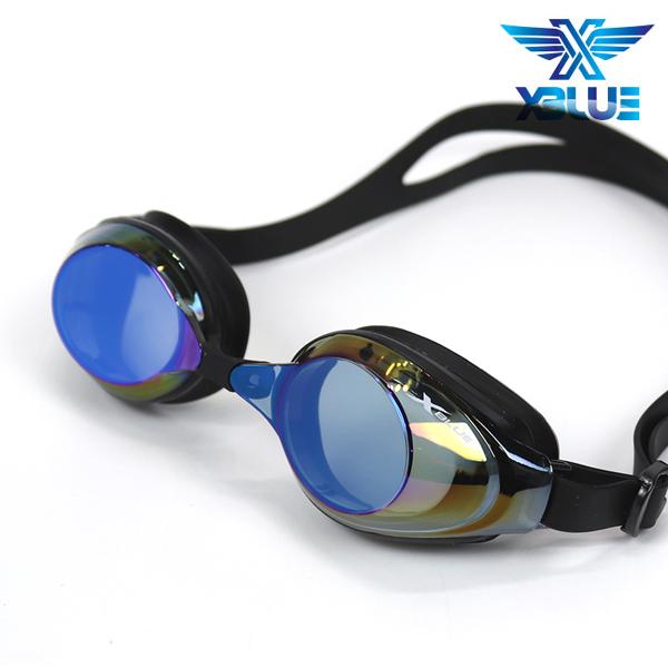 엑스블루 수경 패킹/미러렌즈 XB24MR[BLU]