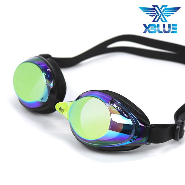 엑스블루 수경 패킹/미러렌즈 XB24MR[GLD]