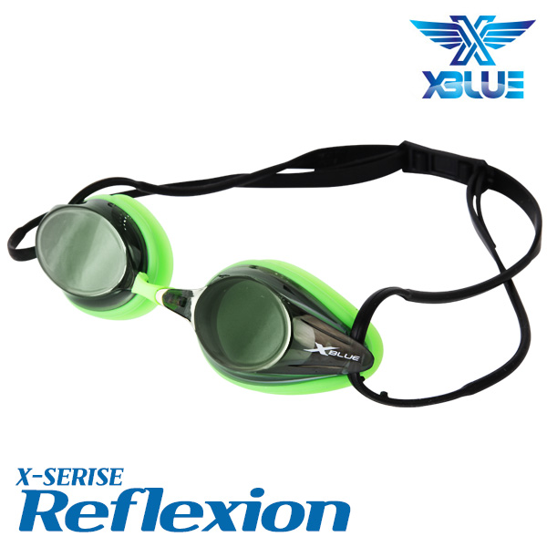 XBL-0405-BKGN 엑스블루 REFLEXION 미러 패킹 수경
