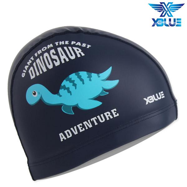 XBL-8213-NVY 엑스블루 X-BLUE 주니어 우레탄수모 공룡