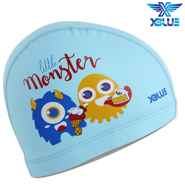 XBL-8215-BLU 엑스블루 X-BLUE 주니어 우레탄수모 몬스터