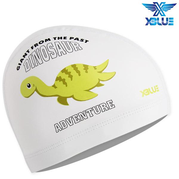 XBL-8213-WHT 엑스블루 X-BLUE 주니어 우레탄수모 공룡
