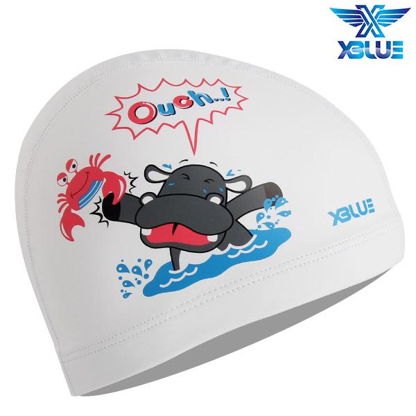 XBL-8219-WHT 엑스블루 X-BLUE 주니어 우레탄수모 하마