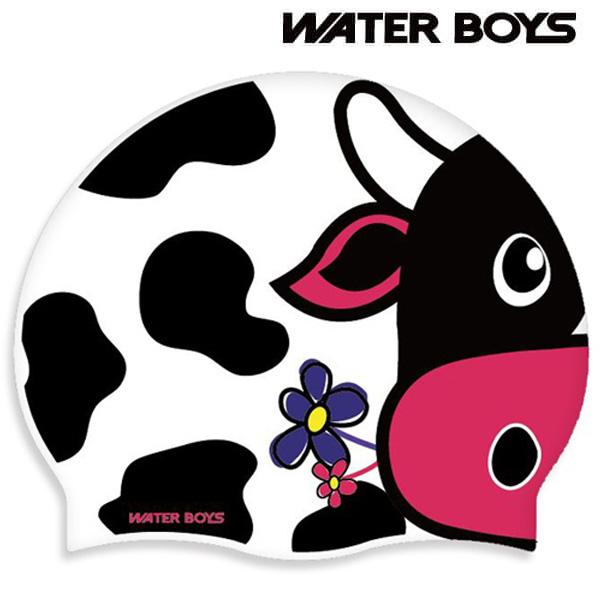 못말리는 젖소-양면수모 워터보이즈 실리콘 수모