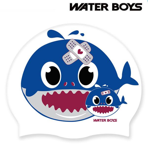 아기고래-BLU 워터보이즈 실리콘 수모 수영모 수영용품