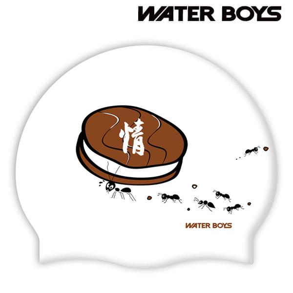 초코파이&개미-WHT 워터보이즈 실리콘 수모