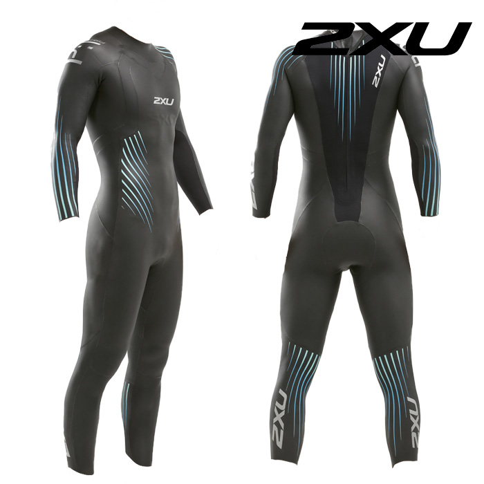 2XU 2021 Mans Propel P1 Wetsuit-BLUE OMBRE 철인3종 슈트