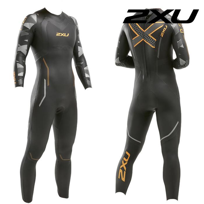 2XU 2021 Mans Propel P2 Wetsuit-ORANGE FIZZ 철인3종 슈트