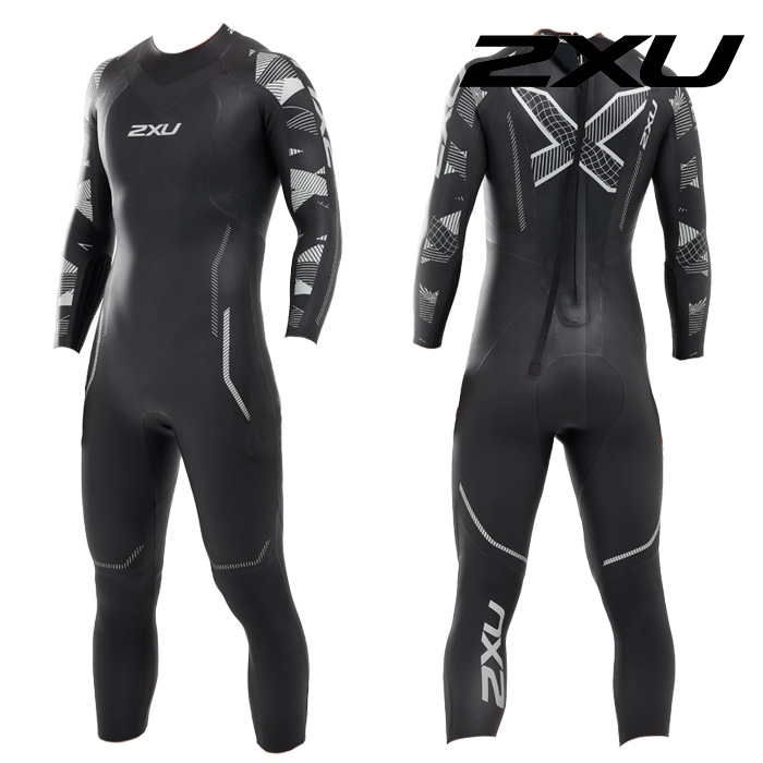 2XU 2020 Mans Propel P2 Wetsuit-TEXTURAL GEO 철인3종 슈트