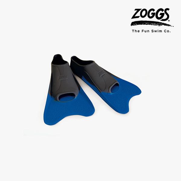 ZOGGS 울트라숏핀 오리발(블랙)ML (BLUE-BLACK)