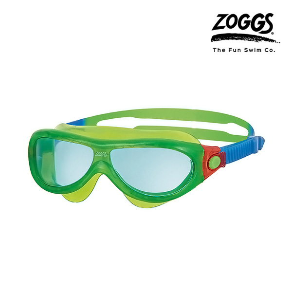 ZOGGS 팬텀 키즈 마스크 (GREEN-RED)
