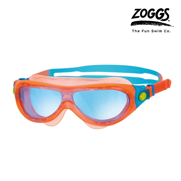 ZOGGS 팬텀 키즈 마스크 (ORANGE-BLUE)