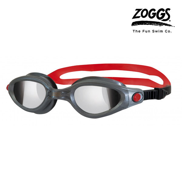 ZOGGS 팬텀 엘리트 수경 (GUNMETAL-RED)