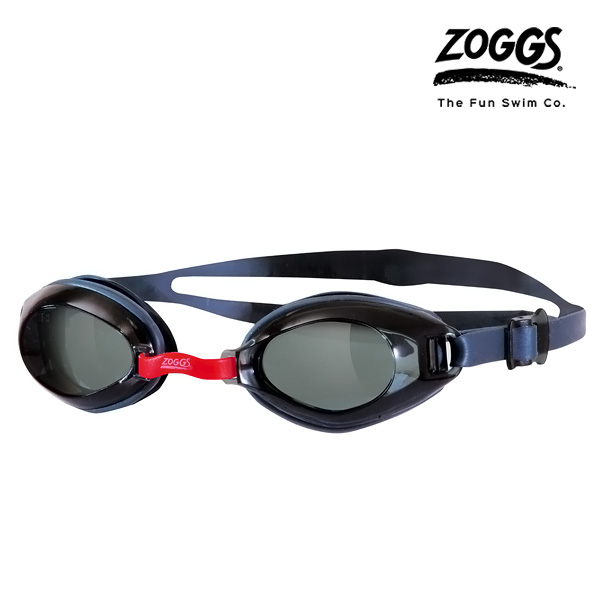 ZOGGS 엔듀라 엑티브 수경 (RED-BLACK)