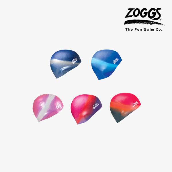 ZOGGS 실리콘 멀티 컬러 수모 Silicone Cap-Multi-Colour