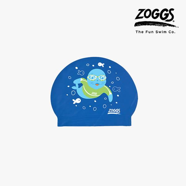 ZOGGS 키즈 아쿠아 캡 (BLUE)