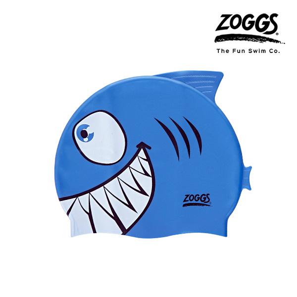 ZOGGS 주니어 캐릭터 실리콘 수모 (SHARK)