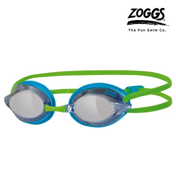 ZOGGS 레이스펙스 미러수경 (BLUE-GREEN)