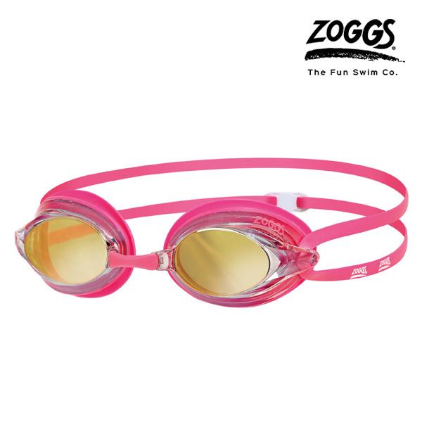 ZOGGS 레이스펙스 미러수경 (PINK-PINK)