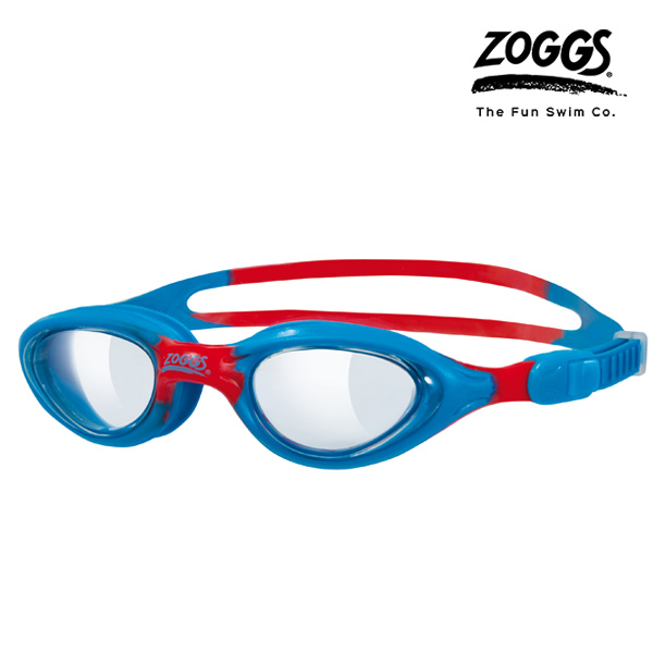 ZOGGS 리틀 슈퍼 씰 키즈 수경 (BLUE-RED)