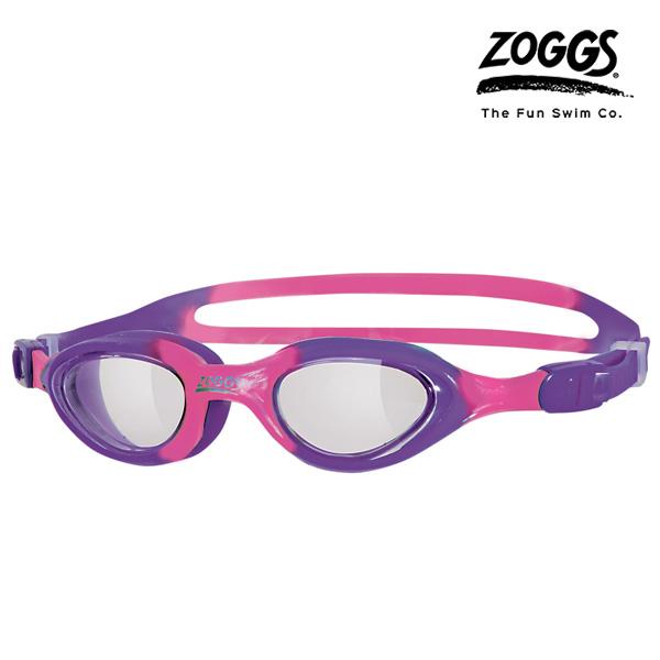 ZOGGS 리틀 슈퍼 씰 키즈 수경 (PURPLE-PINK)