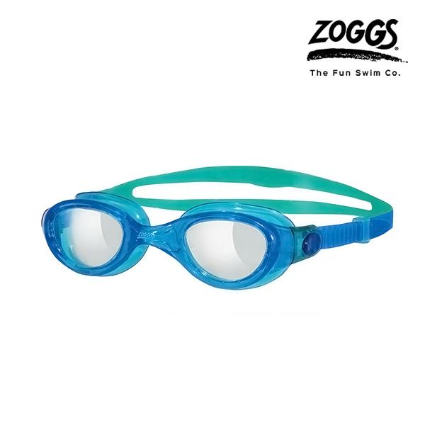 ZOGGS 팬텀 클리어 수경 (BLUE-AQUA)