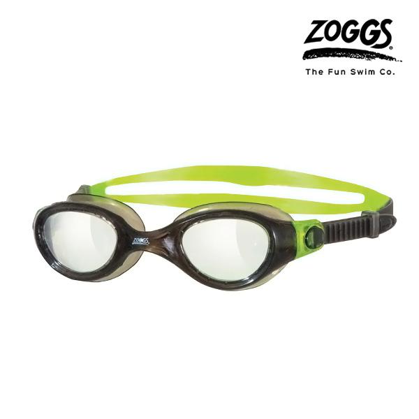 ZOGGS 팬텀 클리어 수경 (BLACK-GREEN)